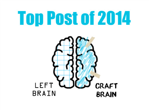 2014 was a big year for STEAM (Science, Technology, Engineering, Art & Math) on Left Brain Craft Brain. Find out what the top post was!