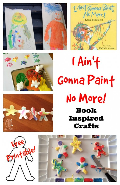 i aint gonna paint no more book inspired crafts left brain craft brain
