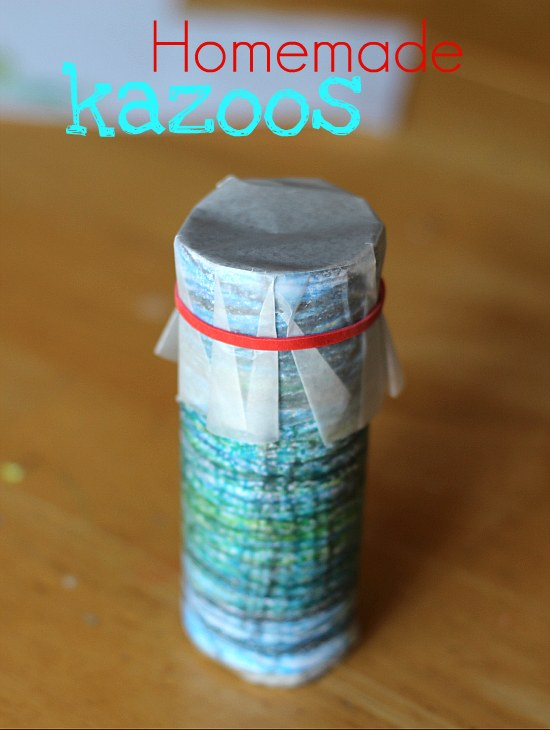 kazoo from preschool crafts for kids