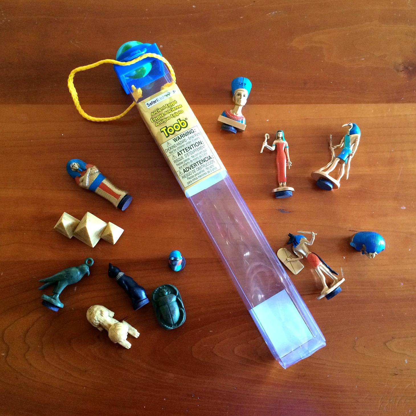 Pharaoh Tac Toe Toob miniatures