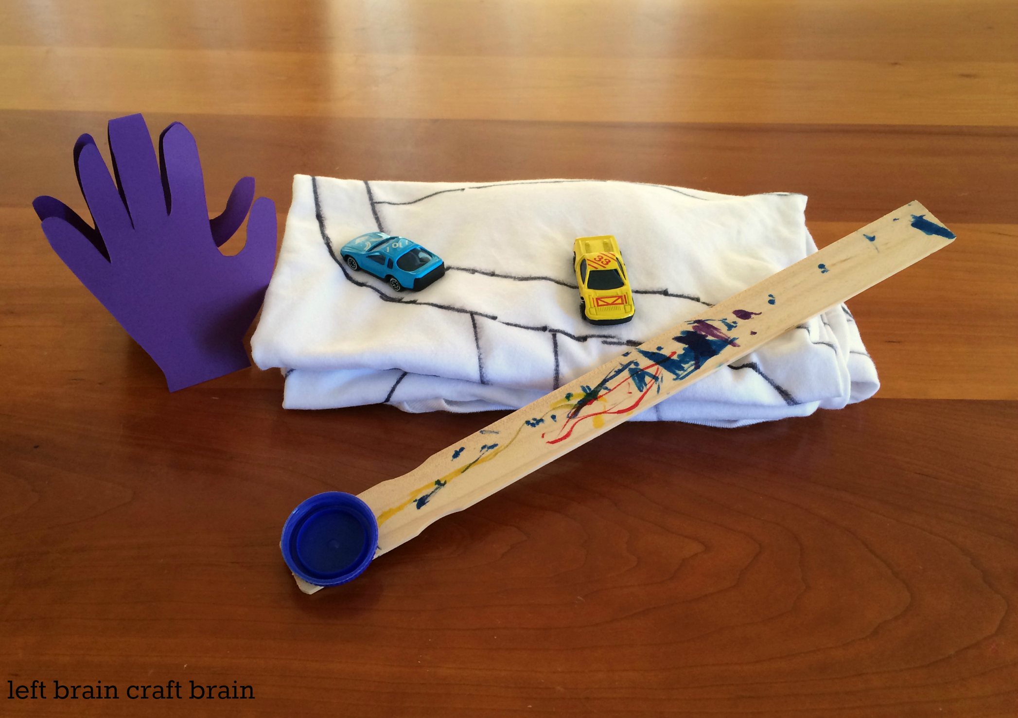 father's day diy back scratcher gift LBCB