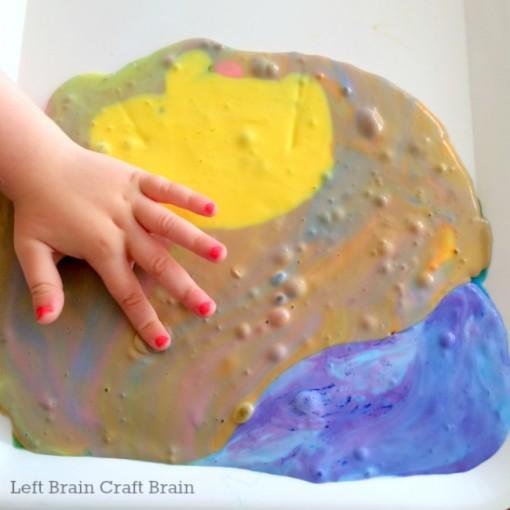 starry night van gogh slime left brain craft brain