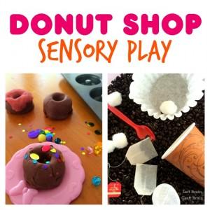 Donut Shop Sensory Play Left Brain Craft Brain FB