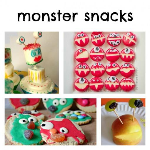 Monster Snacks Left Brain Craft Brain