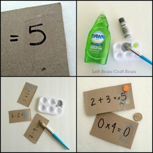 scratch off math cards steps 2 left brain craft brain