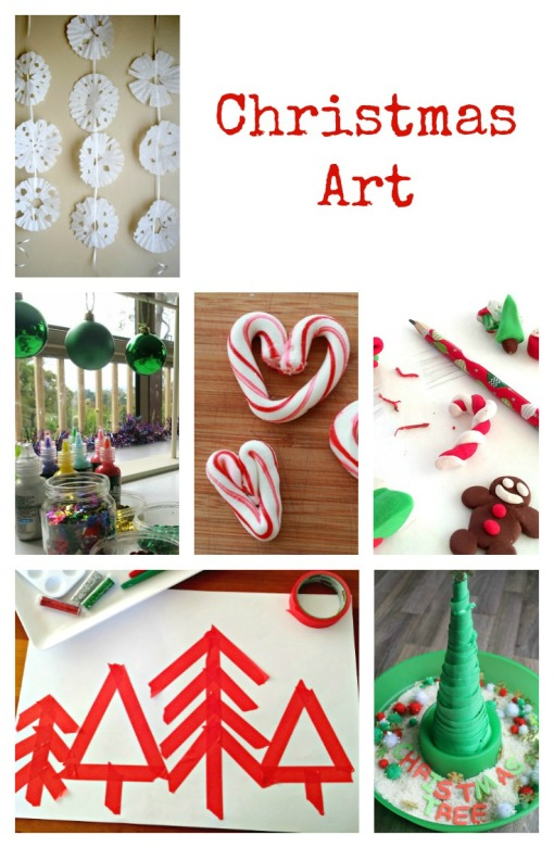 Christmas Art Left Brain Craft Brain
