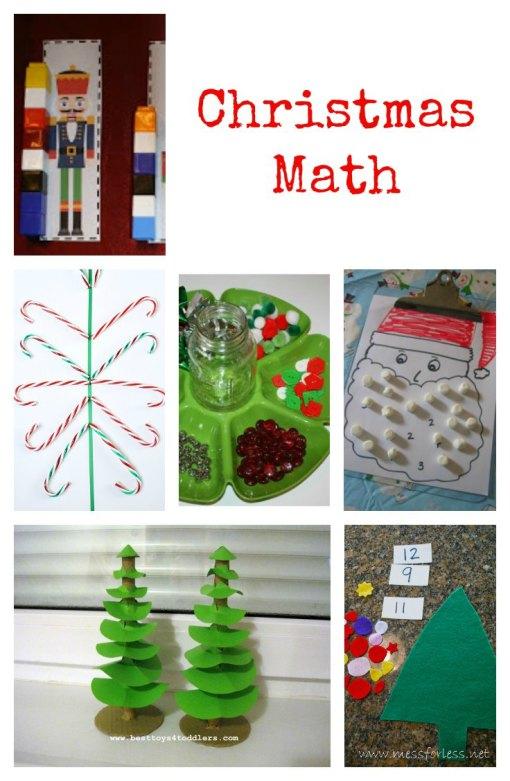 Christmas Math Left Brain Craft Brain