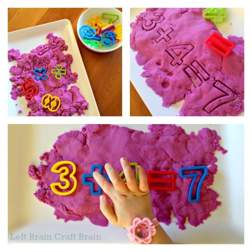 Kinetic Sand Arithmetic Left Brain Craft Brain