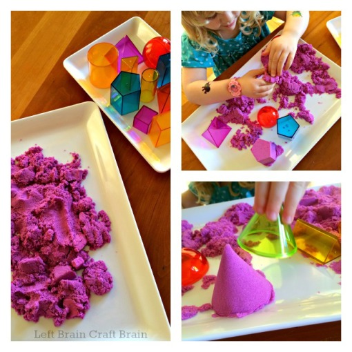 Kinetic Sand Geometry Left Brain Craft Brain