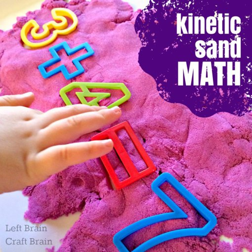 Kinetic Sand Math Left Brain Craft Brain FB