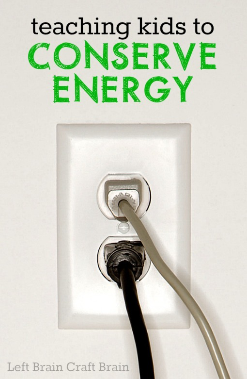 Ideas for teaching kids how to conserve energy because saving energy means saving money means more fun for the family!  (spon)