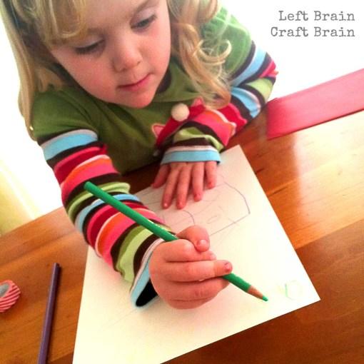 Writing Santa Left Brain Craft Brain