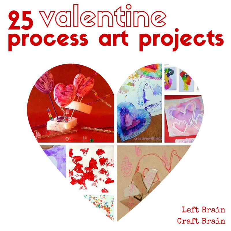 25 Valentine Process Art Projects