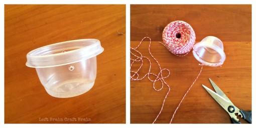 Goldfish Crackers Pulley Basket Left Brain Craft Brain