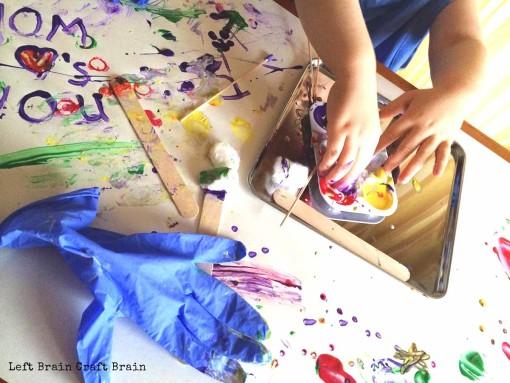 Messy Paint Doctor Left Brain Craft Brain