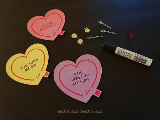 Valentine Circuits Supplies Left Brain Craft Brain 2