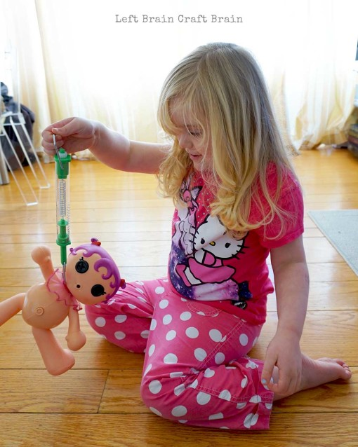 Weighing Lalaloopsy Left Brain Craft Brain 2