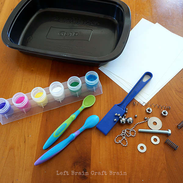 Magnet Painting Supples Left Brain Craft Brain