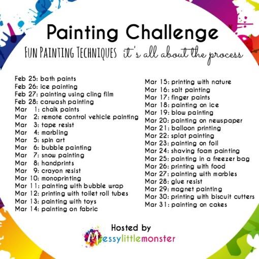 painting technique list