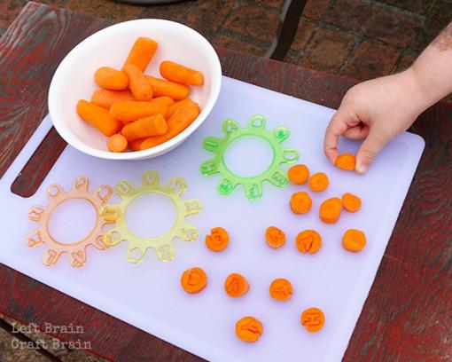 Carrot Cutting Left Brain Craft Brain