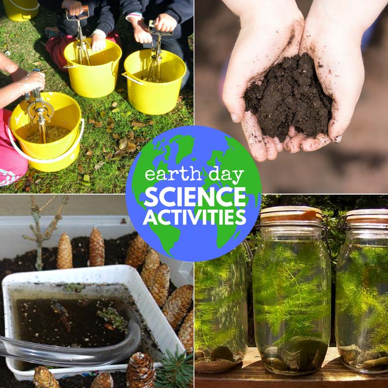Earth Day science activities for kids