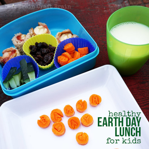 Healthy Earth Day Lunch for Kids Left Brain Craft Brain FB2