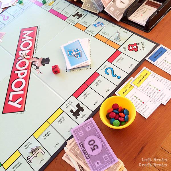 Monopoly Left Brain Craft Brain 2