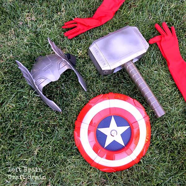 Superhero Tools Left Brain Craft Brain