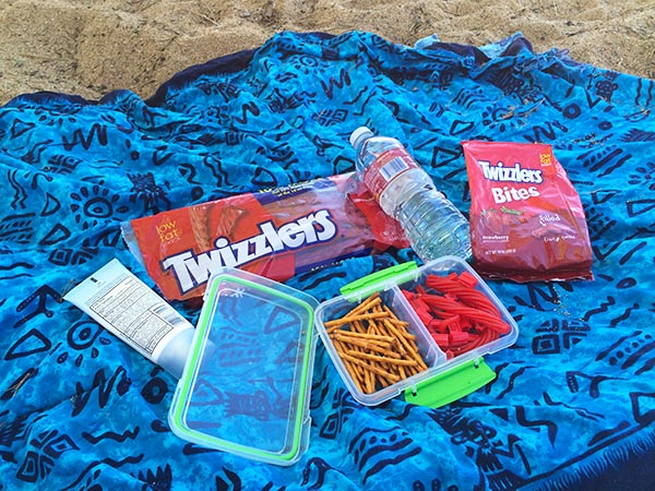 Twizzlers on the Beach LBCB
