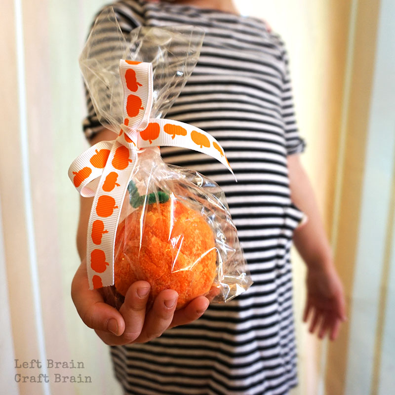Fizzing Pumpkins Party Favor Left Brain Craft Brain