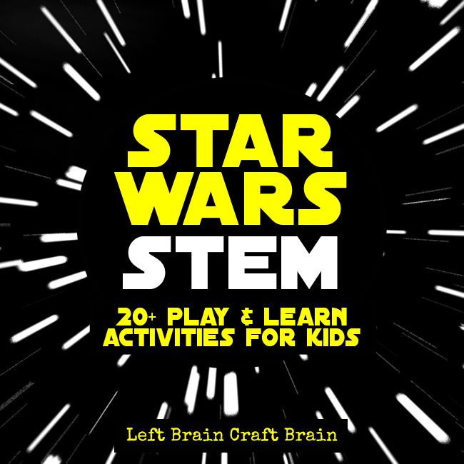Star Wars STEM Play & Learn Activities for Kids