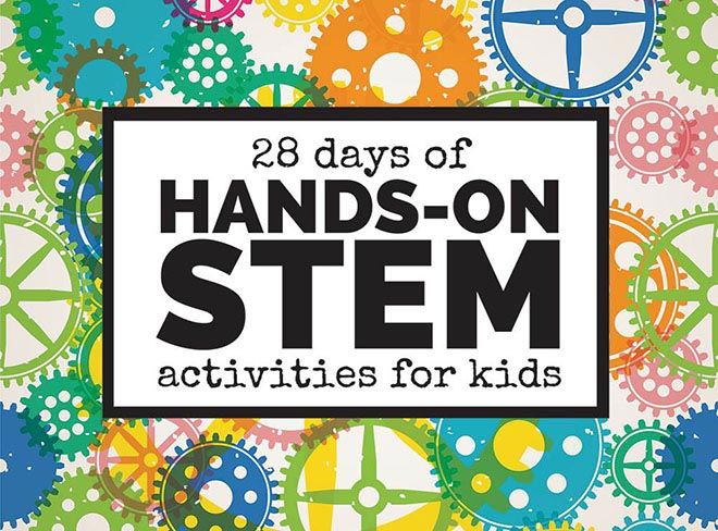 28 Days of Hands On STEM featured
