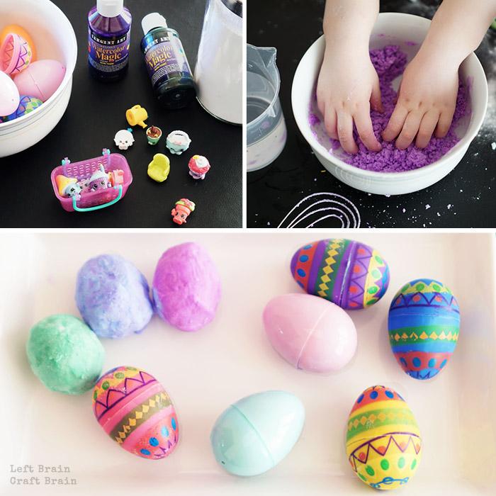 Make Shopkins Surprise Eggs Collage2 Left Brain Craft Brain