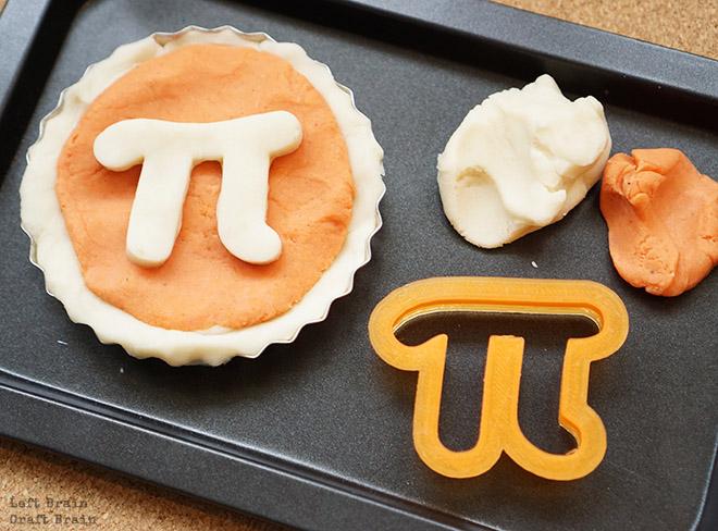Pi Day Pie Playdough