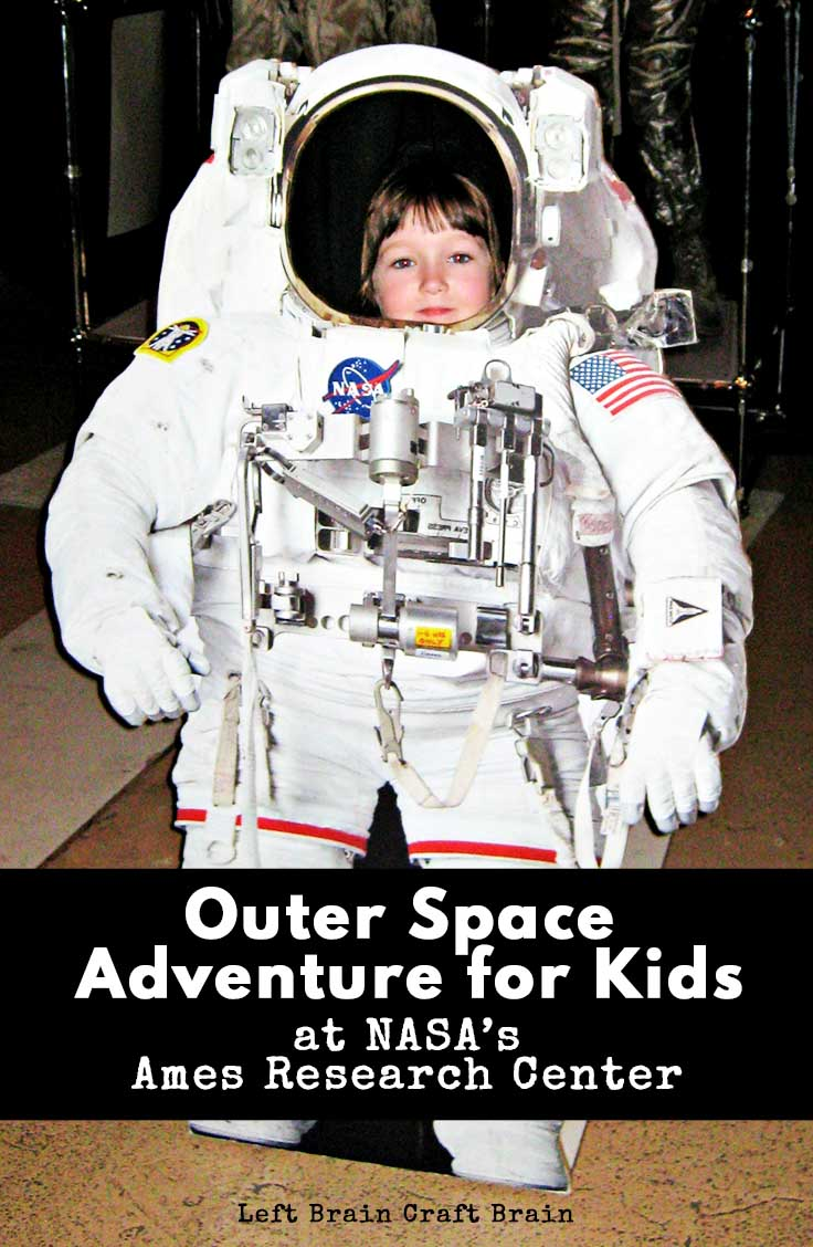 Touch a moon rock and explore other space adventures with kids at NASA's Ames Research Center.