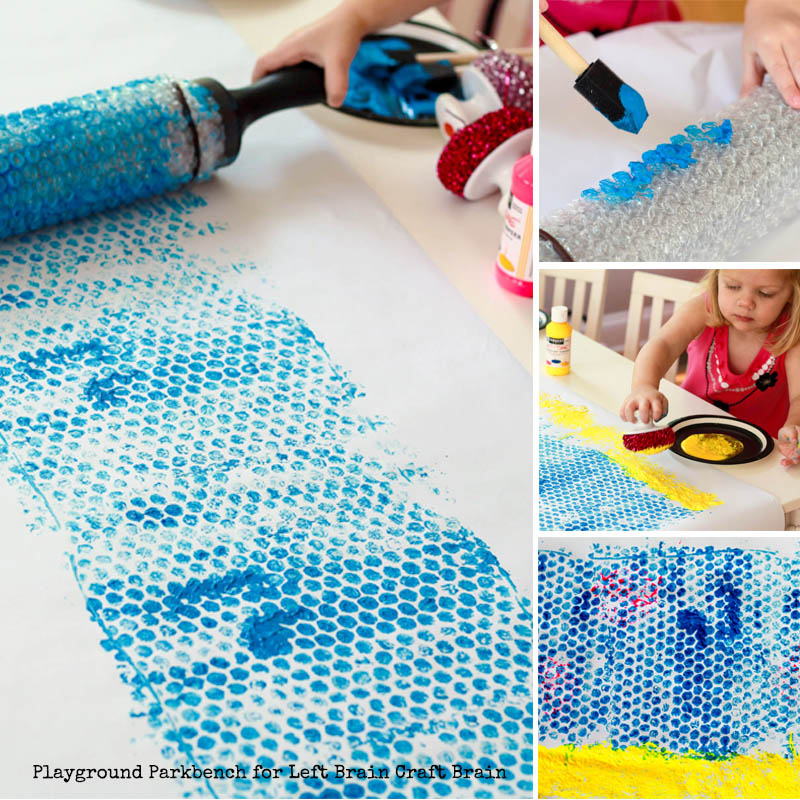 Sensory Play for Shark Week - Backdrop Collage