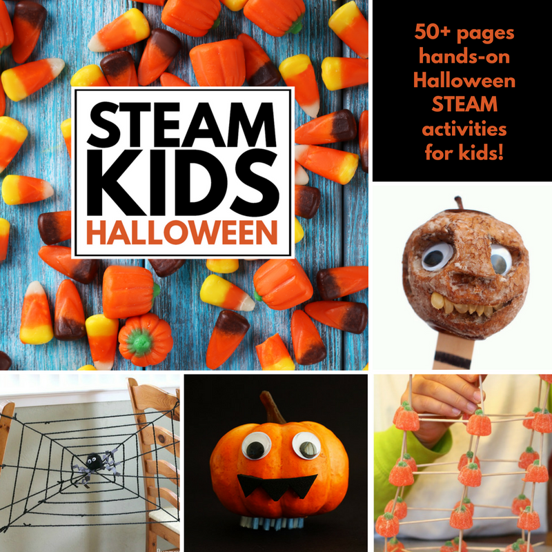 steam-kids-halloween-project-collage