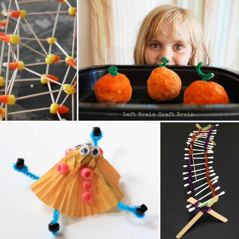 Pumpkins, ghosts, & spiders, oh my! Make your fall educational & fun with these Halloween Engineering Projects for Kids. STEM activities get fun & festive!