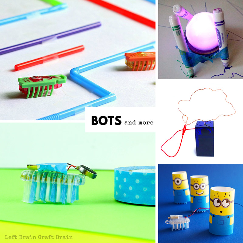 brush bots and more electricity activities for kids