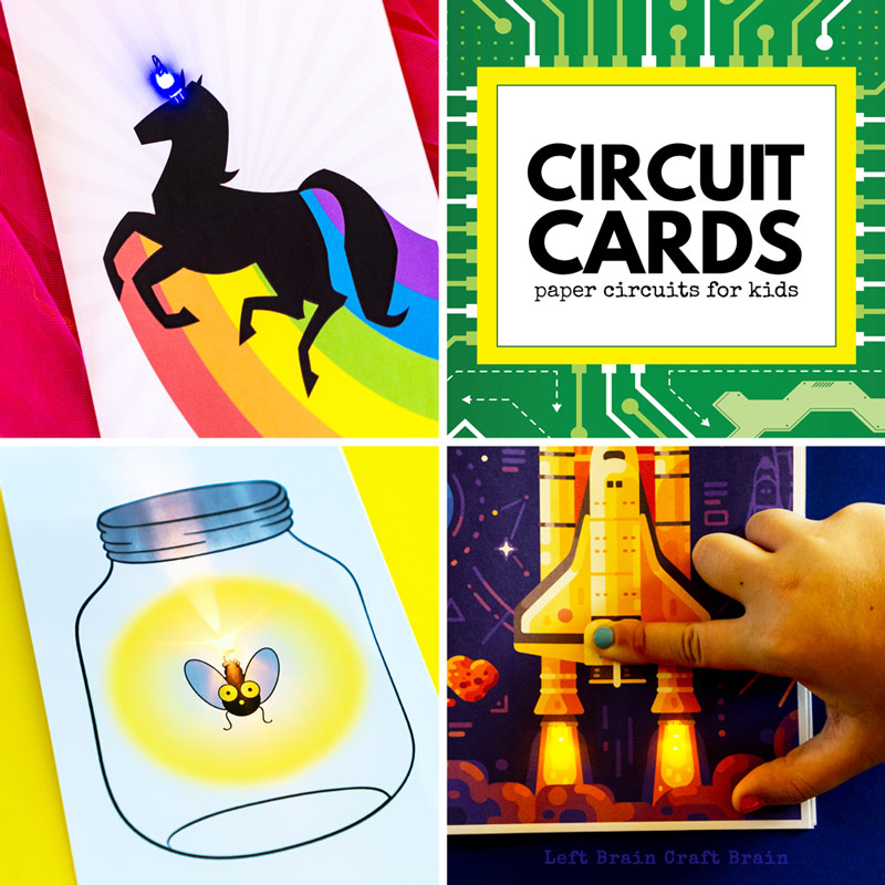 circuit cards paper circuits for kids