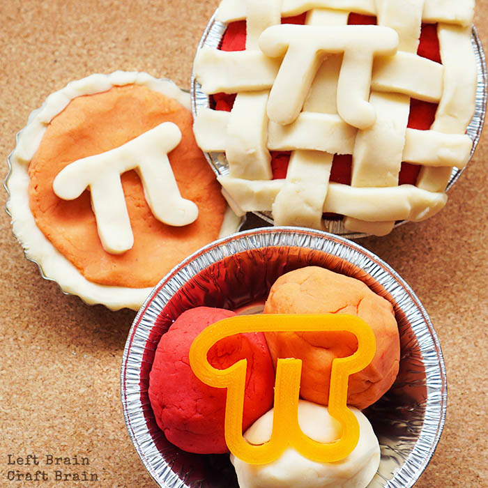Pi Day Pie Playdough