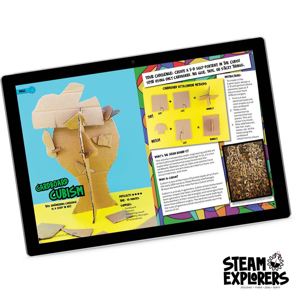 Cardboard-Cubism-in-iPad-1000x1000