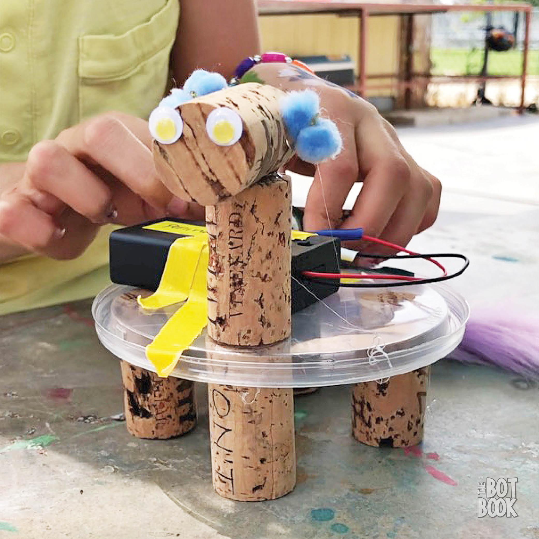 Cork Bot with Hands v2
