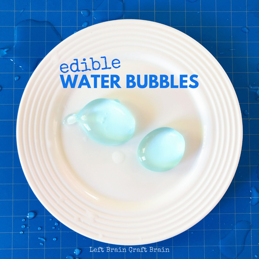 Edible water bubbles are a fun way to learn about food science and molecular gastronomy. Plus you can turn them into a delicious recipe for popping boba.