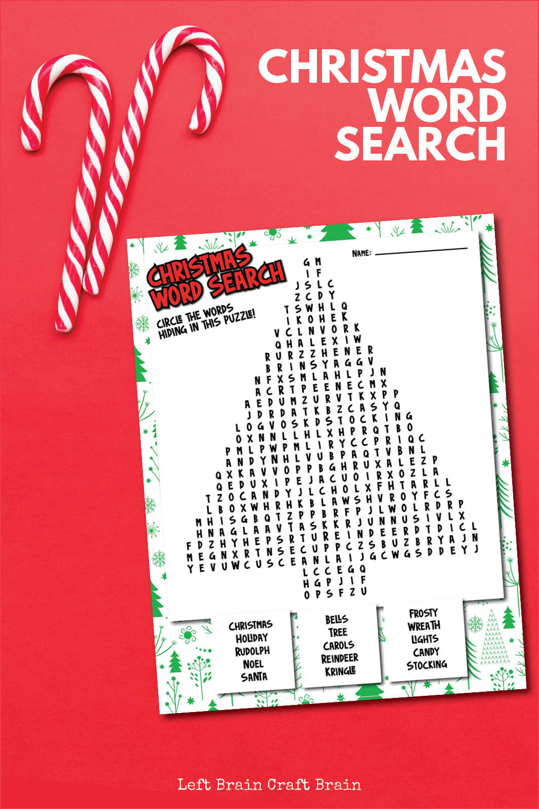 Grab this fun and free printable Christmas Word Search for some easy fun this holiday. Perfect for the kids' table, school, after school, and more.