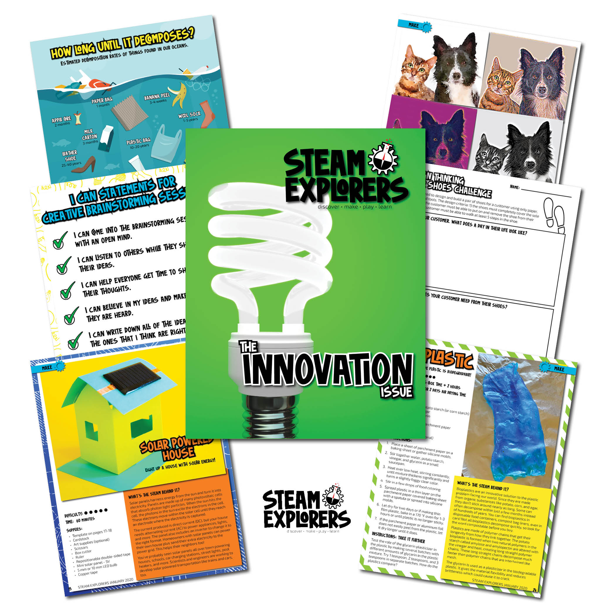 Whats Inside - January 2020 Innovation STEAM Explorers Issue - No Copy v2