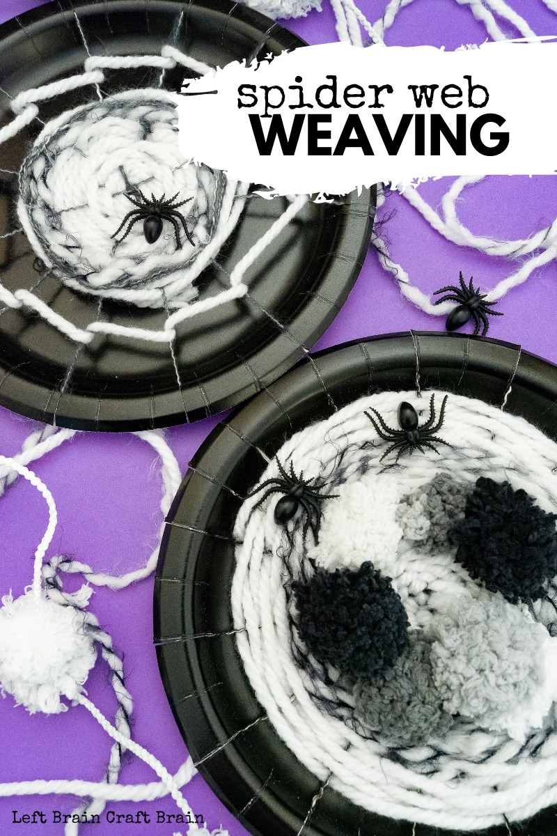 This spider web weaving project is a perfect Halloween STEM / STEAM project to add this month. It's budget friendly-too with just paper plates & yarn.