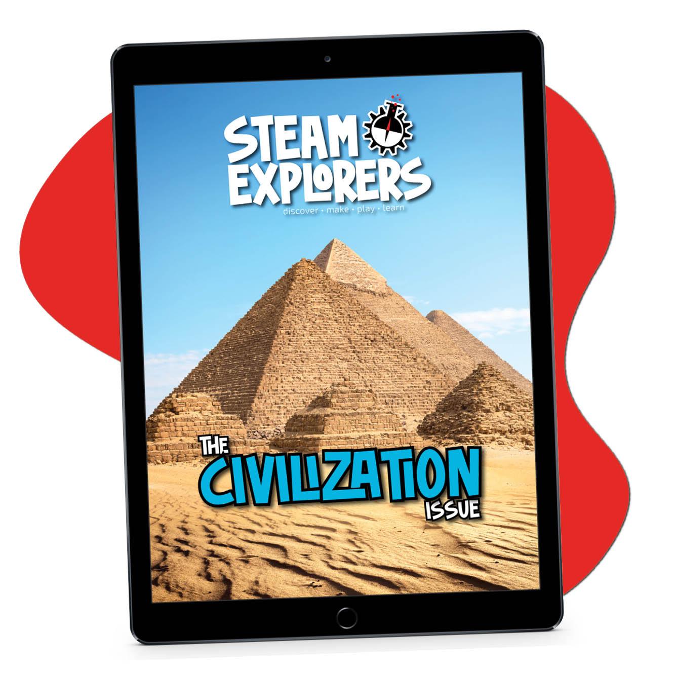Civilization ipad on blob 1000x1000