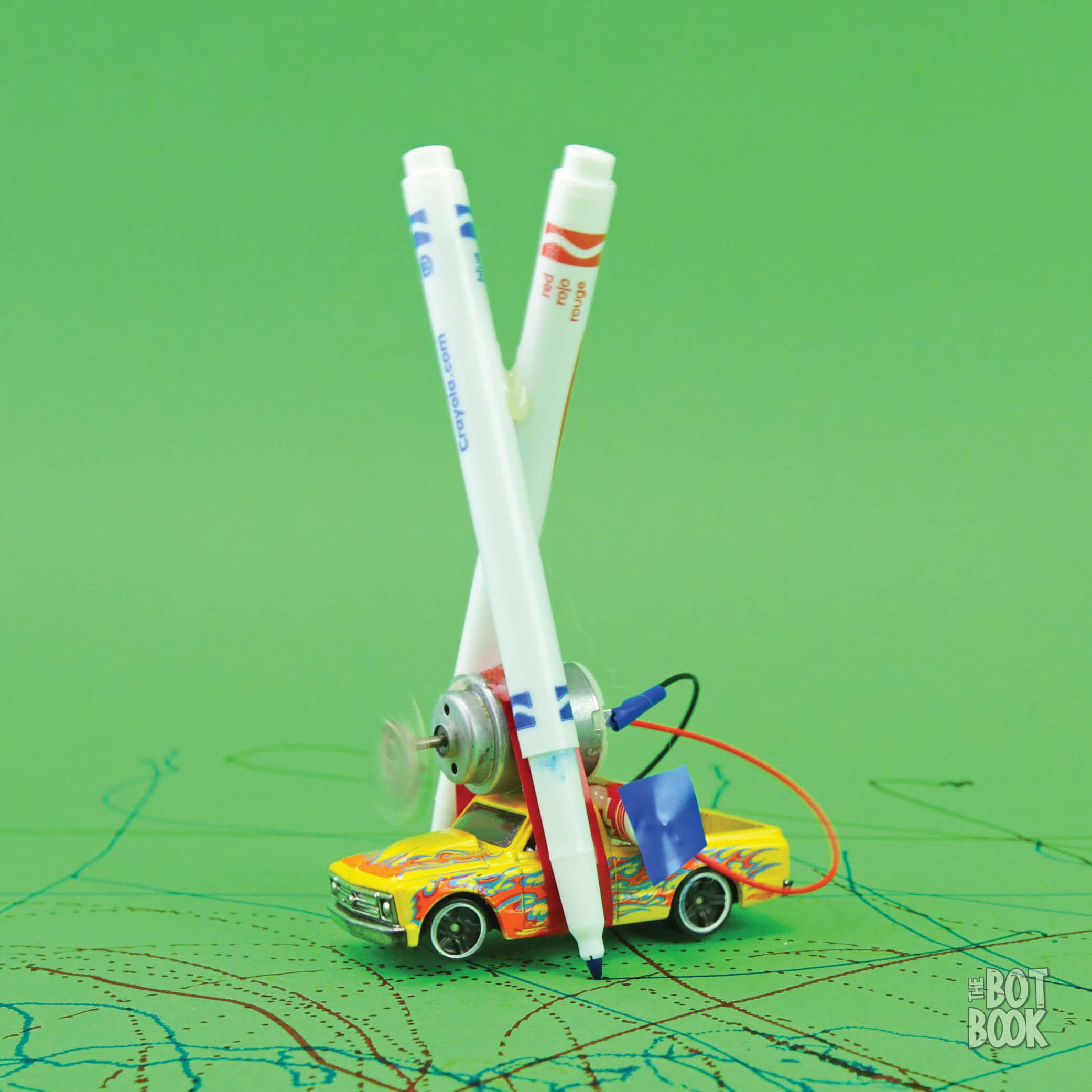 Toy Car Marker Bot